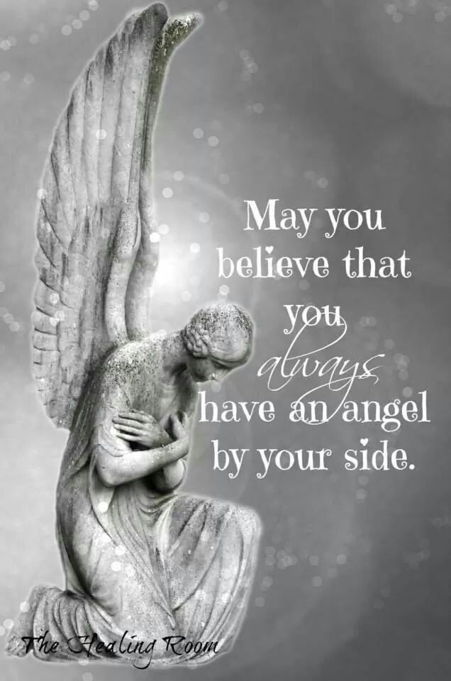 May you believe you always have an angel by your side. #AngelsCalling www.CallingAllTheAngels.com