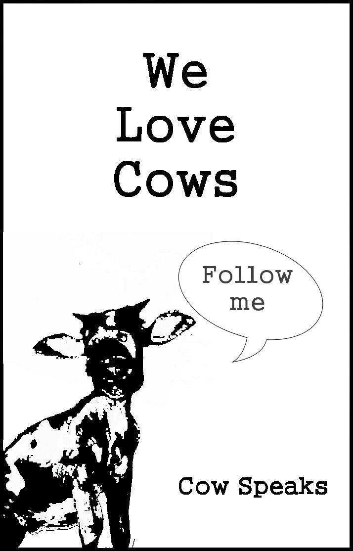 Vegans Love Cows Animal Activist Cat Magazine Cow