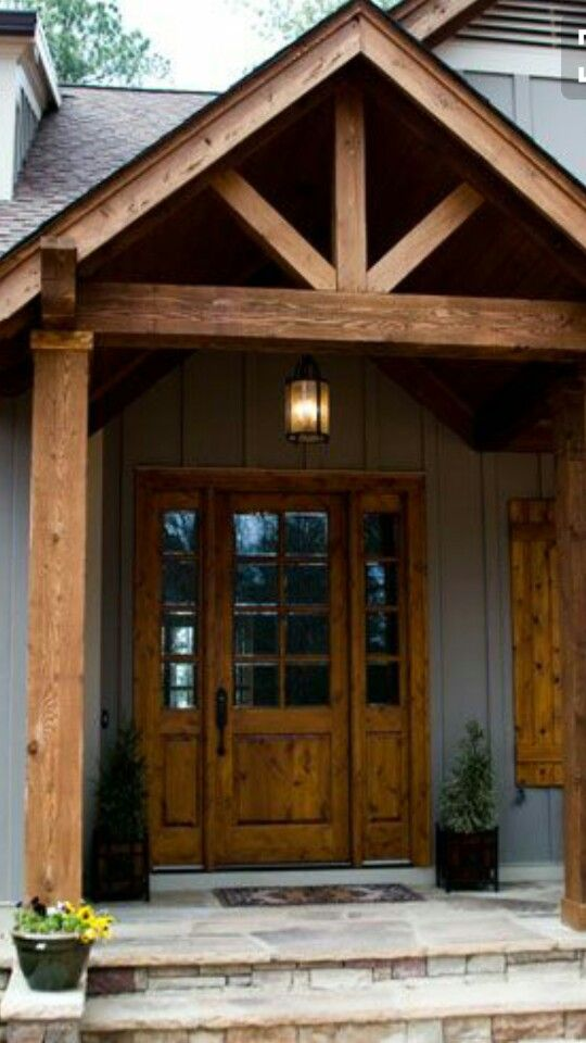 455 best front door charm images on pinterest back door for Back door entrance