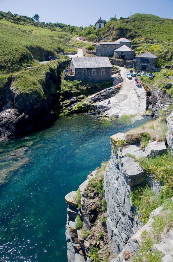 CHURCH COVE | Church Cove near the tip of the Lizard peninsula photographed from 'the Balk'.