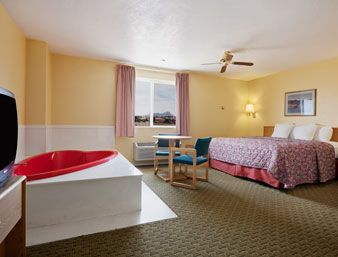 King Bed Jacuzzi Suite. at the Days Inn Hurricane/Zion National Park Area in Hurricane, Utah