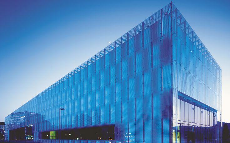 Lentos. Linz, Austria. Szkło: SGG LITE-WALL, SGG MIRASTAR. #glass #architecture #desing #museum