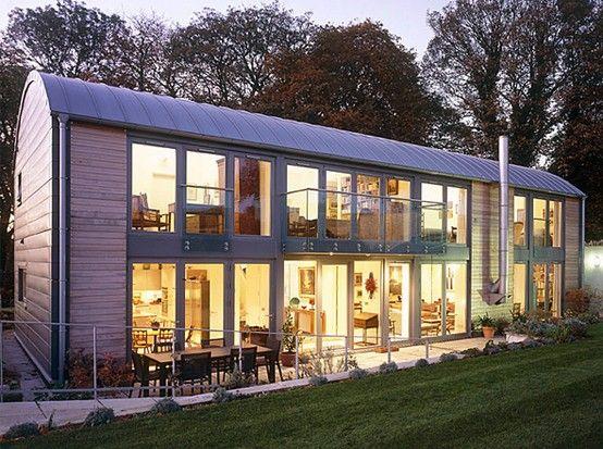 how to convert barn into house | Barn Conversion Exterior