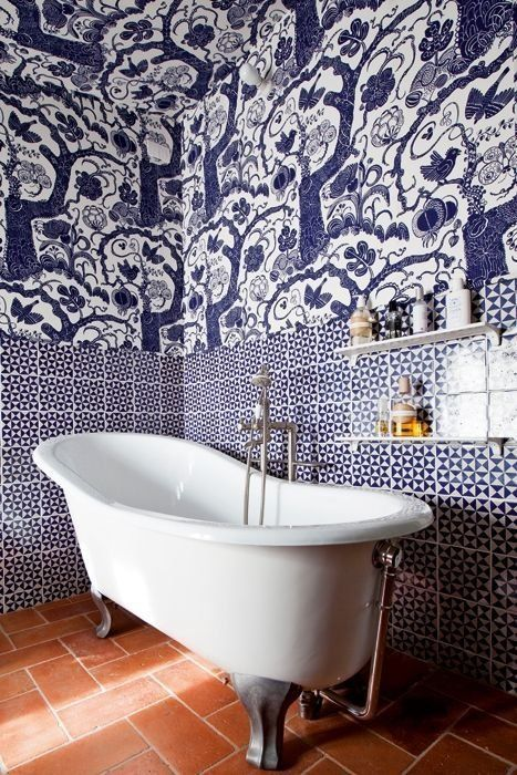 12 Bathrooms Where Tile is the Star of the Show | Apartment Therapy