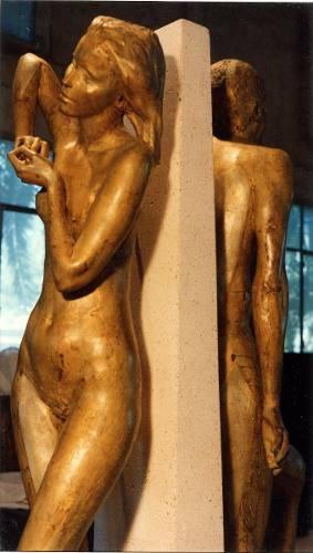 Escultura De Dos Figuras Tamaño Natural $18,072.22 USD Argentina Arte y Artesanías