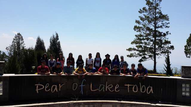 Lake Toba, Indonesia with these people