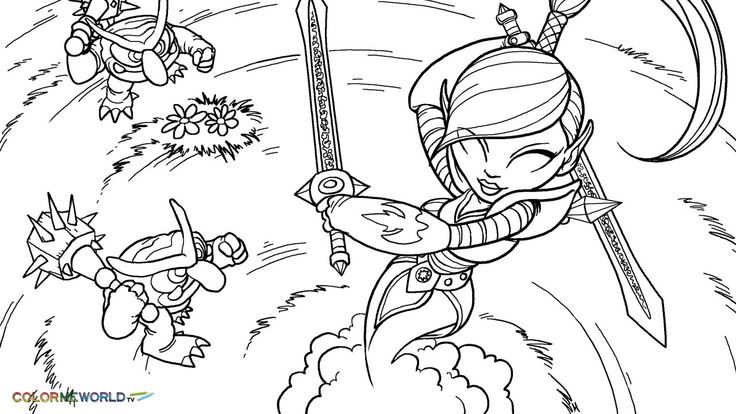 30 best skylanders coloring pages images on pinterest