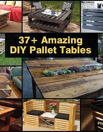 Kaila's Place| 37+ Amazing DIY Pallet Tables