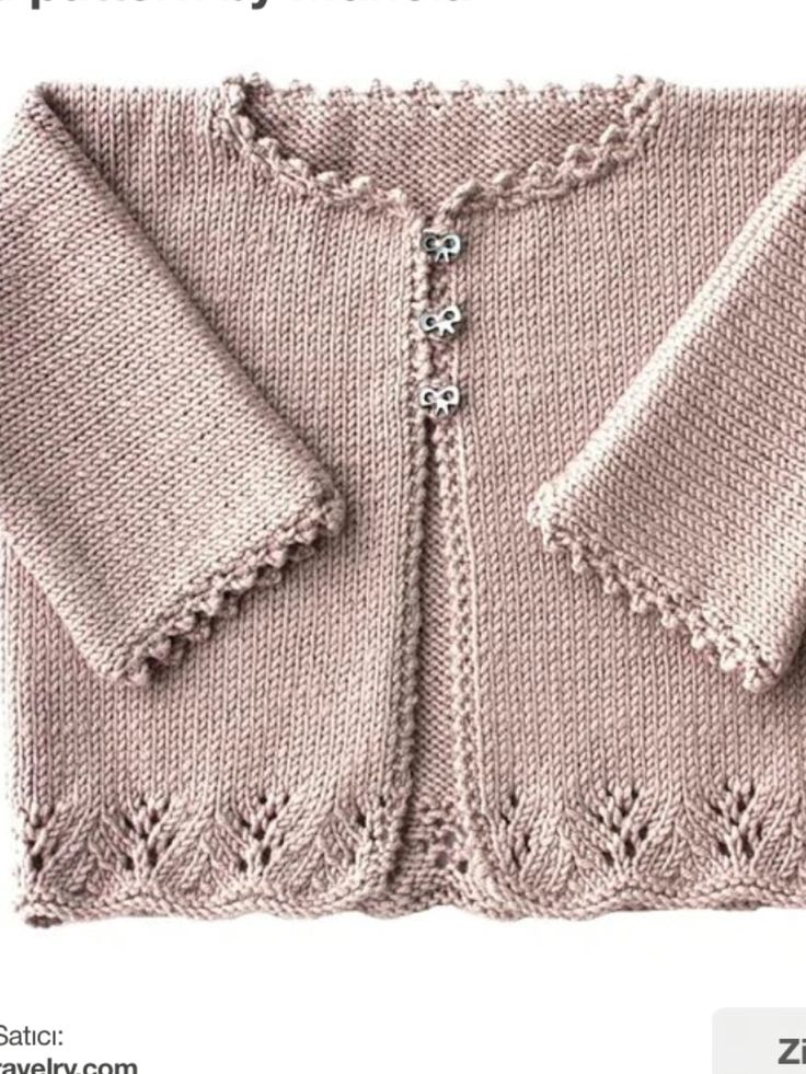 "Çeket [ ""Lacy Cardigan with 