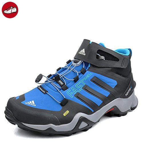 Adidas Outdoor Bekleidung Terrex Fastshell Mid Ch Blubea/black1/solblu, Größe Adidas:11 - Adidas sneaker (*Partner-Link)