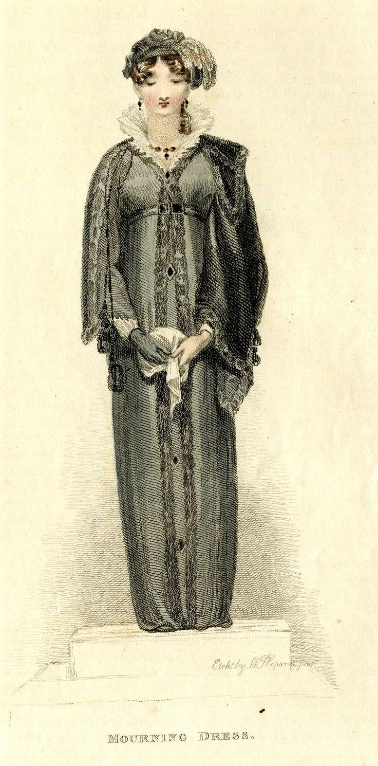 1811  Траурное платье