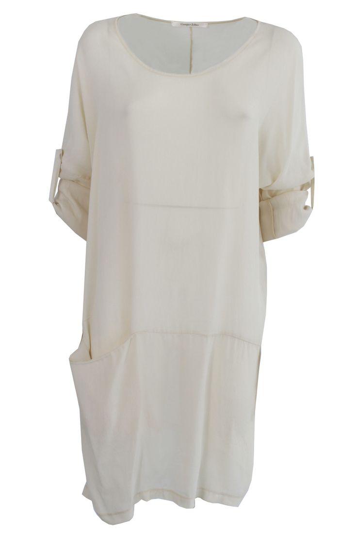 Mini abito con tascone | Giorgia & Johns