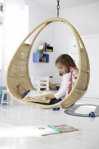 Zoei would love this!  Maybe in the den...It could hang from the main beam...I'll have to  speak with my handywoman to find out if it is doable.