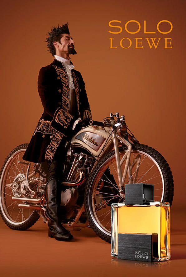 campaña publicitaria perfumes loewe