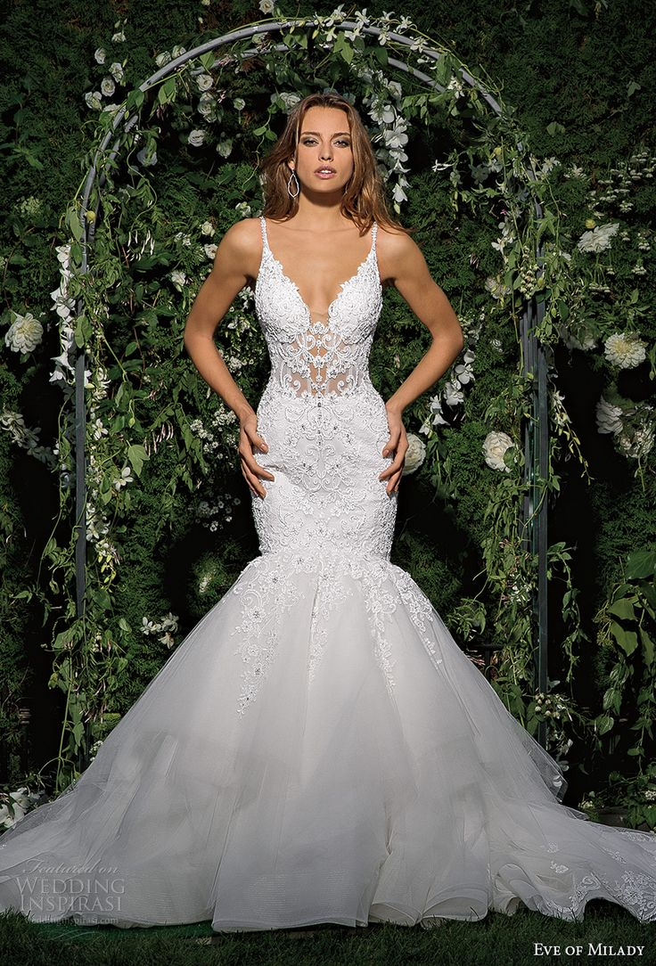 Best 25+ Mermaid Wedding Dresses Ideas On Pinterest