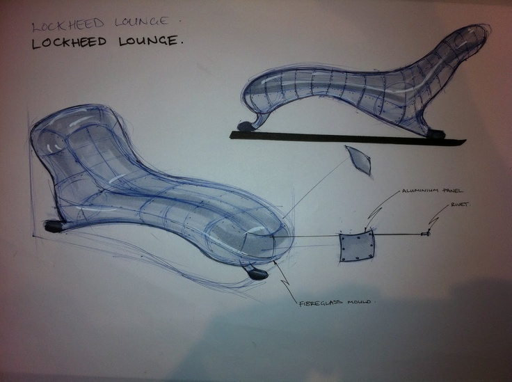 lockheed lounge Lockheed lounge by marc newson is considered the world's most expensive contemporary design object in 2009, the aircraft-wing-inspired couch was sold at.