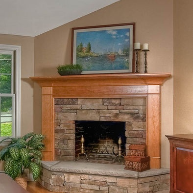 10 best images about brick fireplace ideas on pinterest for Corner fireplace plans
