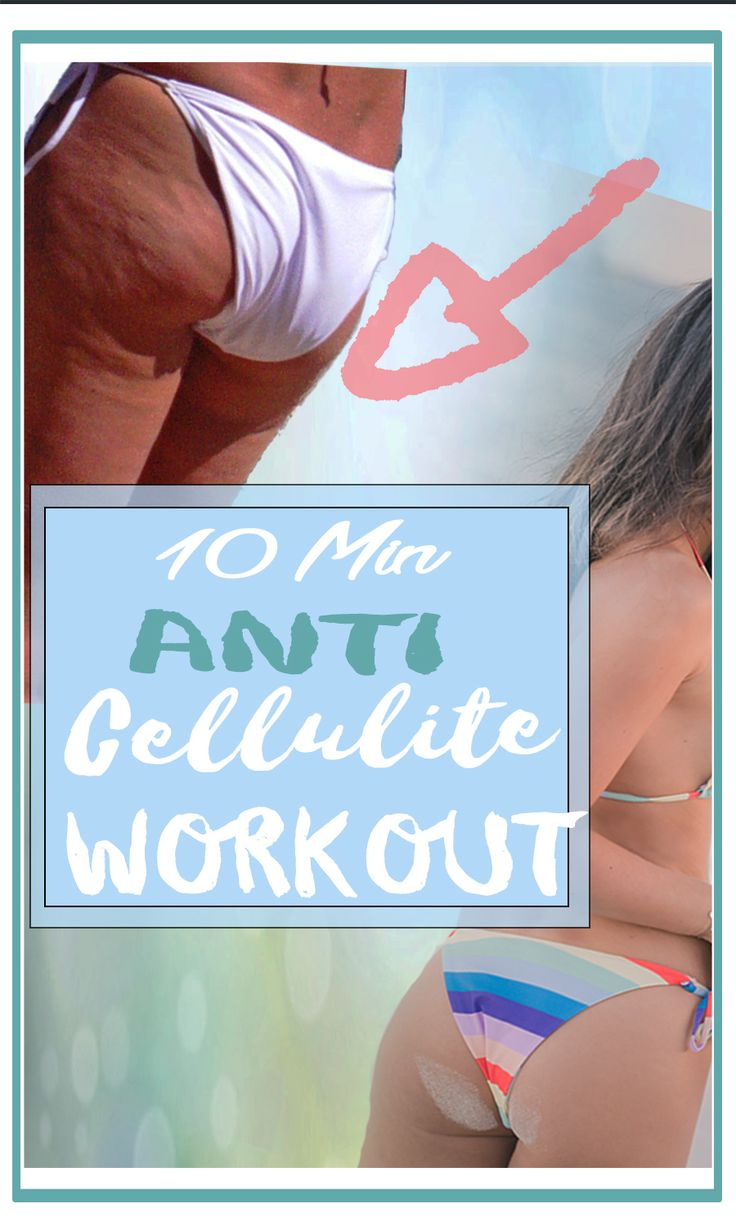 CELLULITE bekämpfen – DIESES PO Workout hilft Ce…