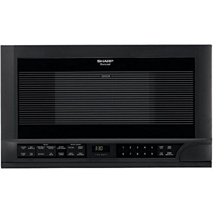 TOP Products Sharp 1.5 Cubic Foot 1100 Watt Over-the-Counter Microwave Oven (Black) the products not only practical and economical it39s stylish too Available with a variety of today39s most popular features this handy microwave is well suited for the dorm room office cottage or...