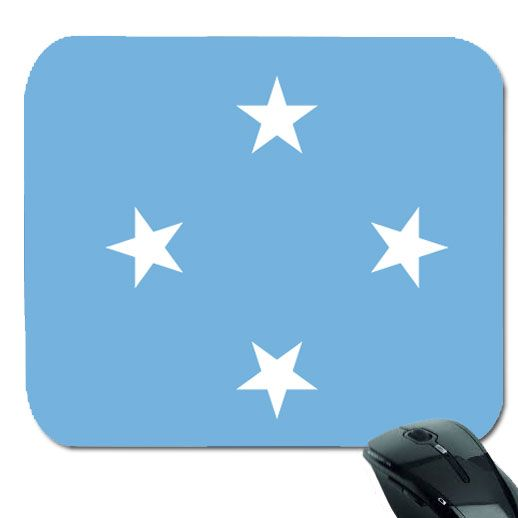 "Federated States of Micronesia Flag Mouse Pad (9.7"" x 8.5"")"