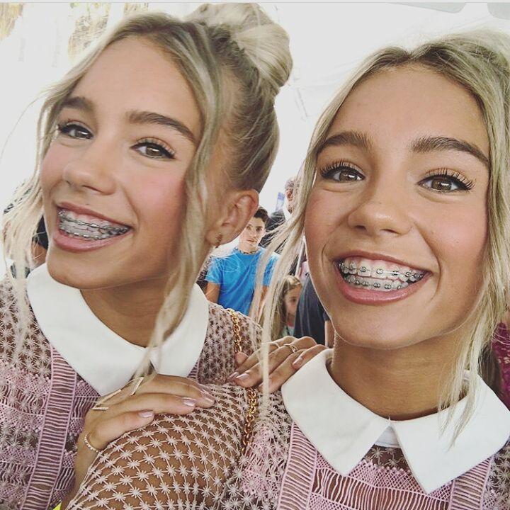 Lisa and Lena at the Teen Choice Awards