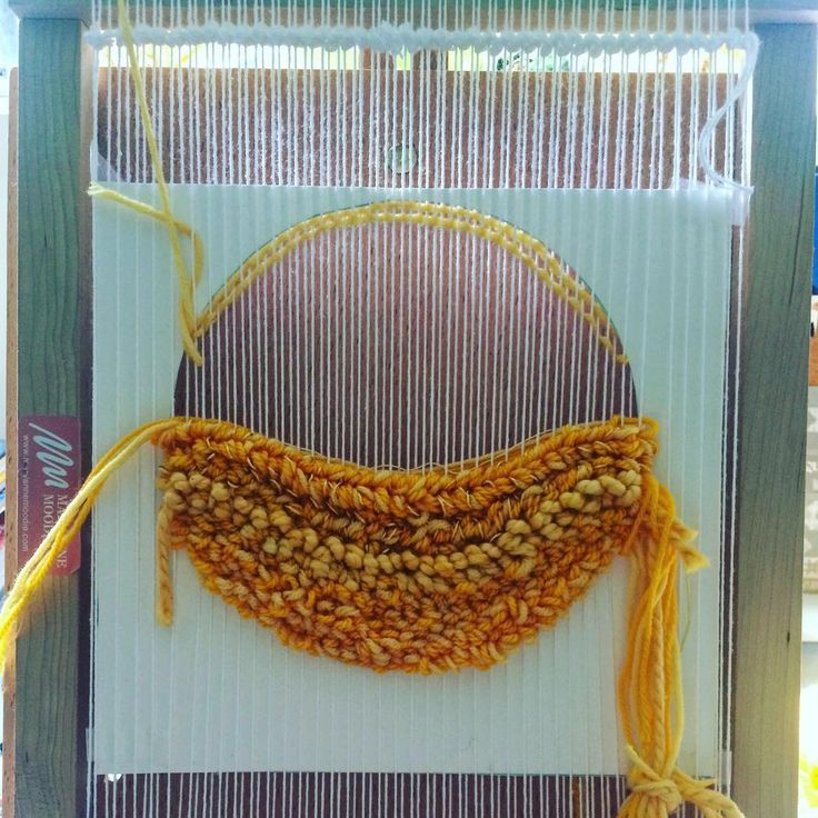 From my seasons series. WIPs #Summer #weaving #weaverfever #weavingloom #tapestry #wallhanging #tapete #tejedora #weaver #australia #mexico ##mmstudent