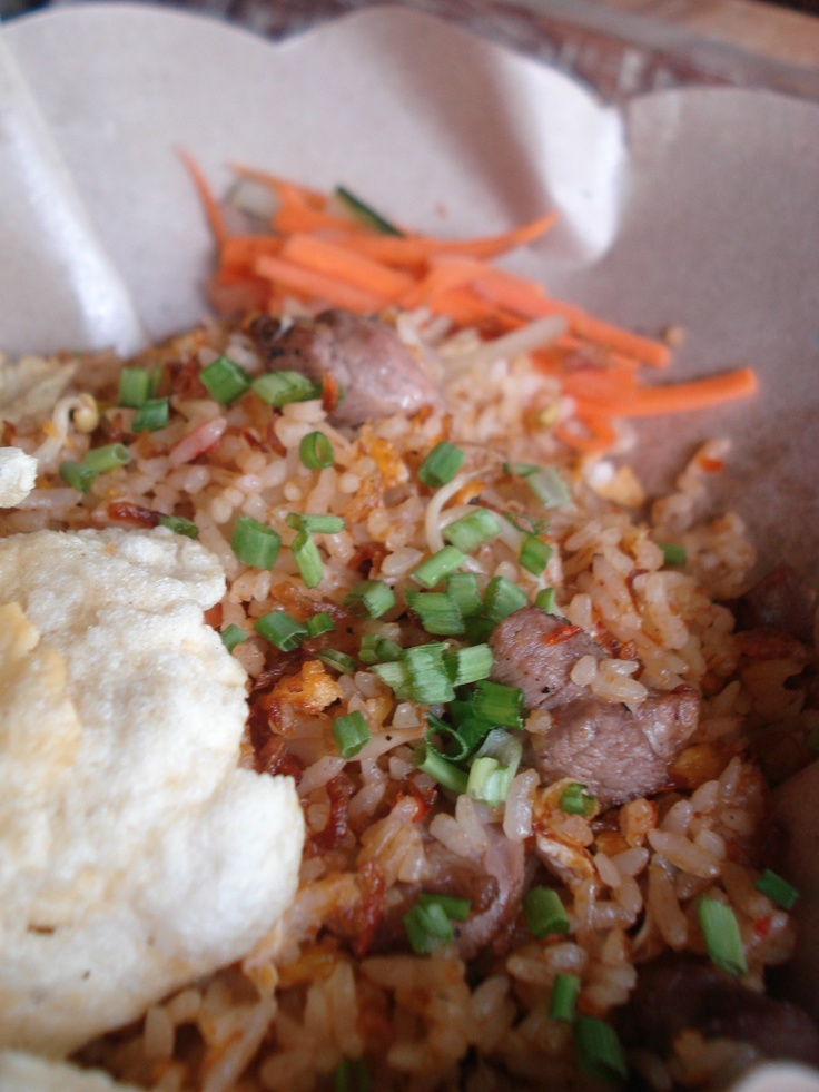 Nasi Goreng Kambing - Your choice of lamb fried rice #bali #bar #restaurant #food #lunch #dinner #kuta #tuban #indonesia
