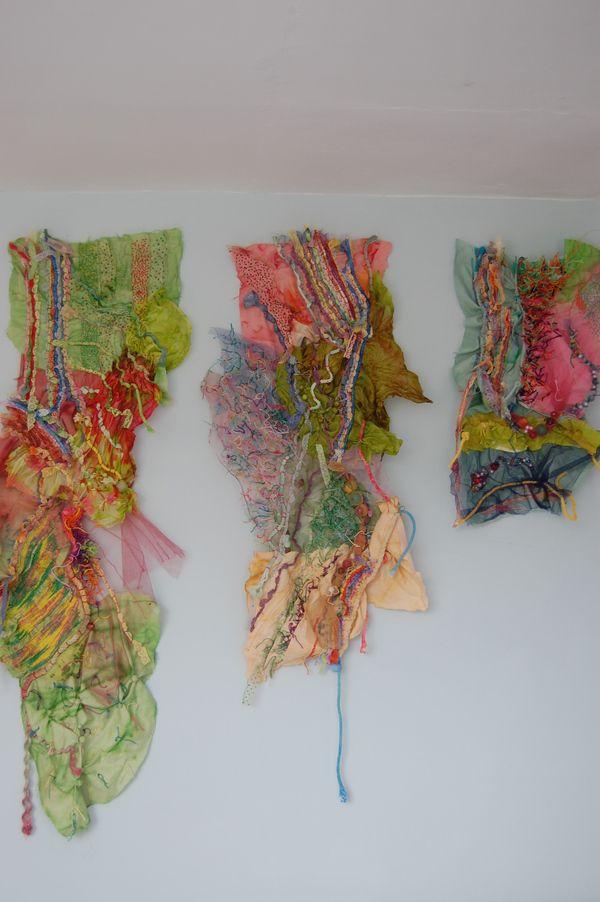 katherine peever textile art panels.