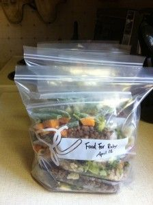 Baby Finger Foods - pre cooked/frozen and lots of variety.