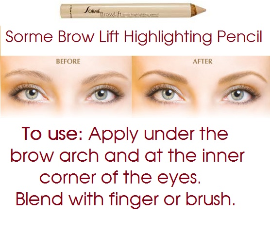 Suffering from tired holiday eyes? Give your eyes a lift with Sorme's Brow Lift Highlighting Pencil and disguise the night before. They'll never know how hard it was to wake up! www.salon625.com
