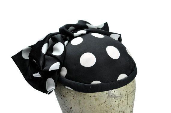 Pola Silk Fascinator Hat by SOHODA on Etsy