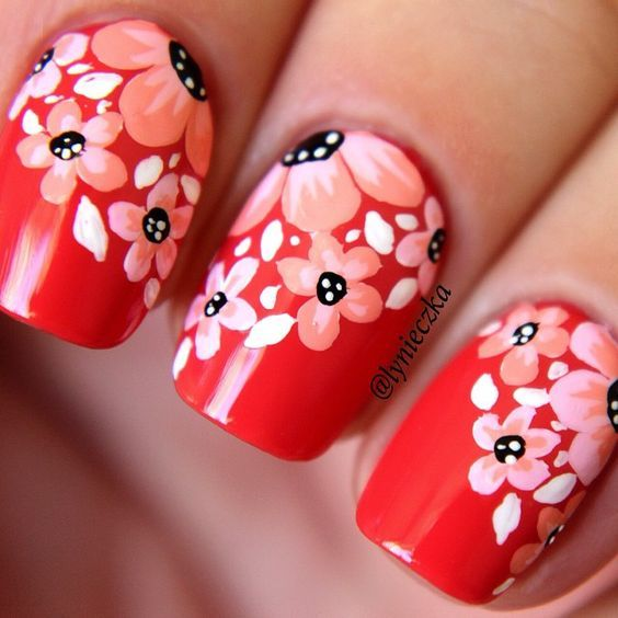 Easy Nail Designs for Beginners that are so cute and simple that you can do it yourself. browse and try more❤