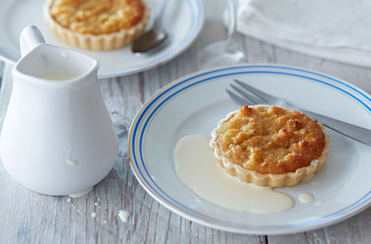 Treacle Tarts made with golden syrup