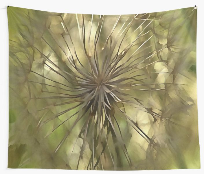 Make A Wish is an original painting from photograph of a biennial herb of the family Asteraceae, native to the Mediterranean region.. #MakeAWish #WallTapestries #decor #homedecor #interiordesign  #organic #natural    https://www.redbubble.com/people/taiche/works/26654806-make-a-wish?asc=t&p=tapestry via @redbubble