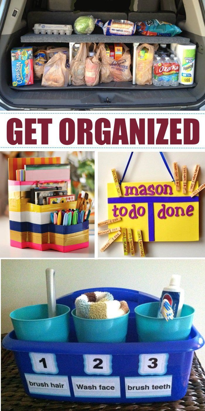 "22 Genius Family ""Stations"" to Organize Your Life. Make life easier in just a few simple steps! Click now!"