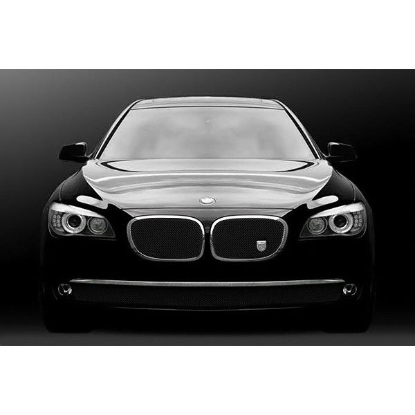 Lexani LG-701003 | 2012 BMW 7 Series Black Chrome Classic Grilles for Sedan
