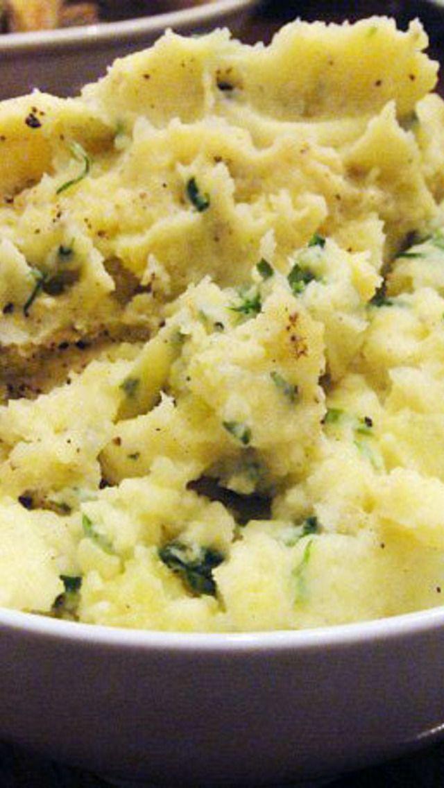 Potato Basil Puree