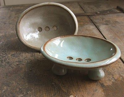 @Jenny MacKenzie...make me a soap dish like this !!