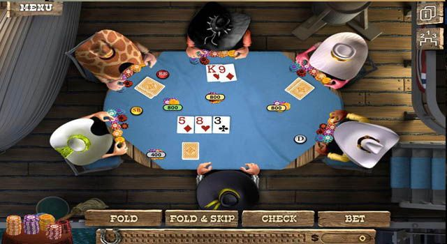 This is One of Best Online Poker Game by zynga company