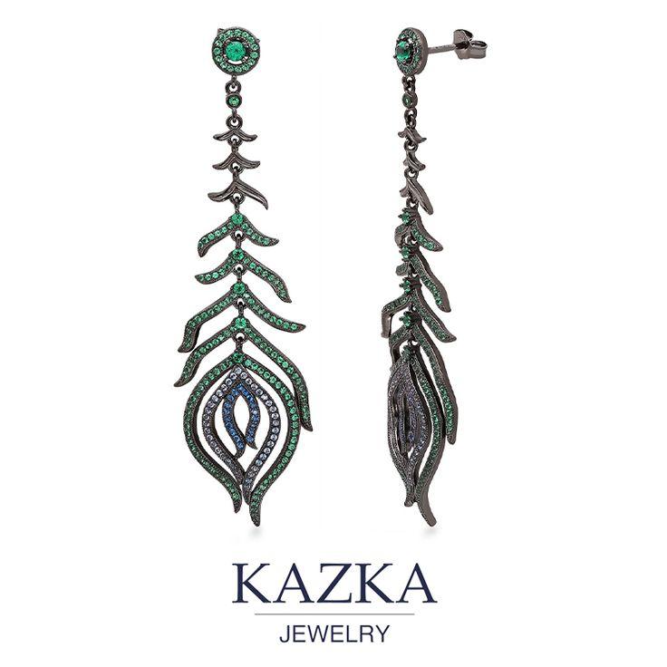 Приобрести со скидкой за 2 869 грн. http://kazka.ua/serebryanie-serezhki-3s543-0194-3s543-0194/ #kazkajewelry #украшение_kazkajewelry