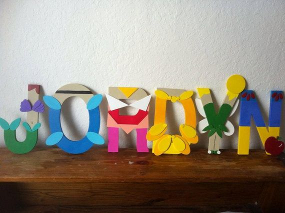disney princess letters disney princess letter by theletterbug on etsy 8 00 351