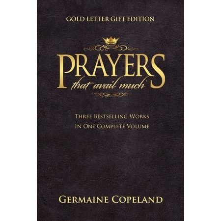 Prayers That Avail Much: Gold Letter (3-In-1)-Leat