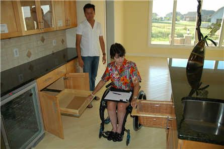 Accessible kitchen.