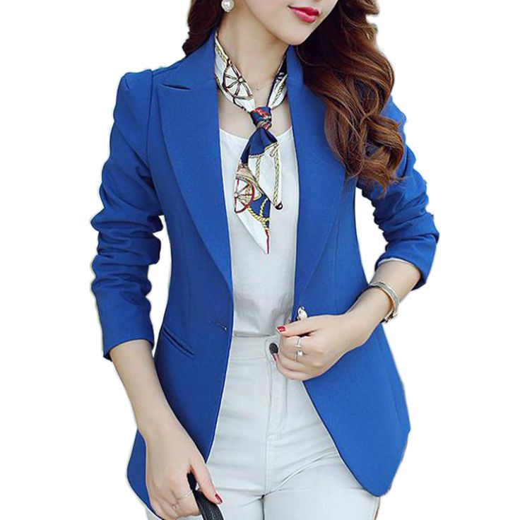 (Green Blue Black) Women Blazers And Jackets Long-sleeved Suit Ms. Blazer Femme Blaser Feminino Casual Blazer For Ladies
