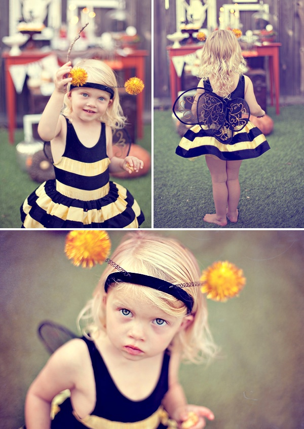 Kailie might need to be a bumble bee one of these years!