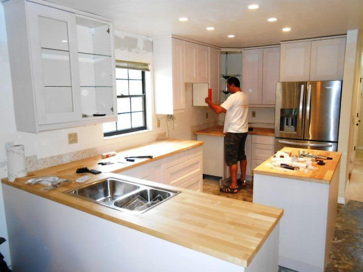 Küche Umbaut Ideen - Küchen  Umbau kleiner küche, Küche