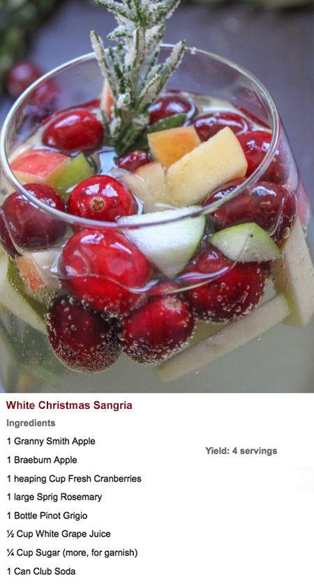 White Christmas Sangria.