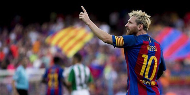 Suarez : Messi Buas, Lawan Hanya Bisa Menyerah