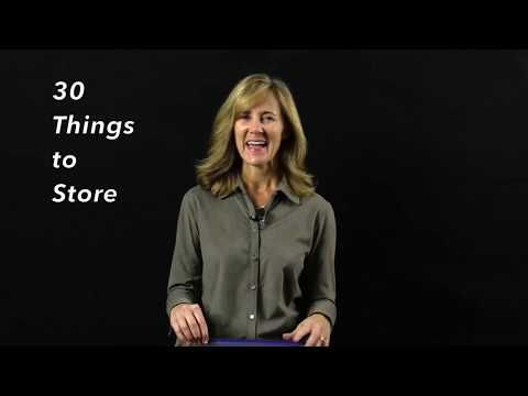 30 Things to Store Day 22: Retail Coupons   The Seana Method