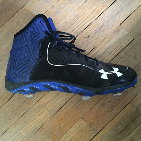 under armour shoes high tops blue. under armour high top baseball cleats shoes tops blue a